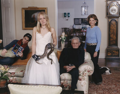 Tina Barney, 'Family Commission with Snake', 2007