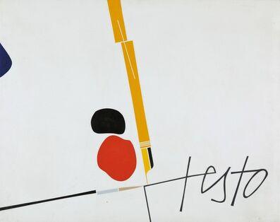 Emilio Tadini, 'Testo', 1976