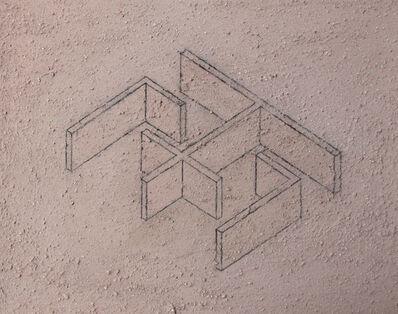 Ximena Garrido-Lecca, 'Arquitectura del Humo (Boceto IV)', 2015