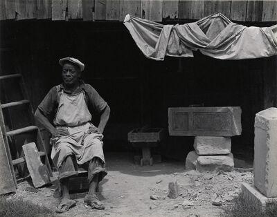 Edward Weston, 'William Edmondson, Sculptor, Tennessee', 1941