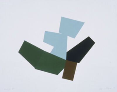 Joel Shapiro, 'Boat, Bird, Mother and Child (h)', 2009