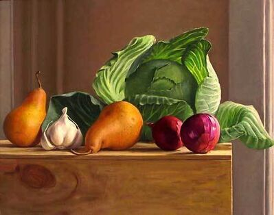 Ron Schwerin, 'Cabbage with Bosc Pears and Red Onions'