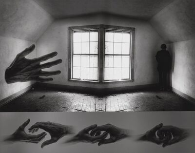Jerry Uelsmann, 'Questioning Moment', 1971