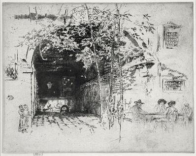 James Abbott McNeill Whistler, 'The Traghetto', 1891-1880