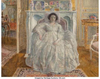 Frederick Carl Frieseke, 'The White Gown', 1923