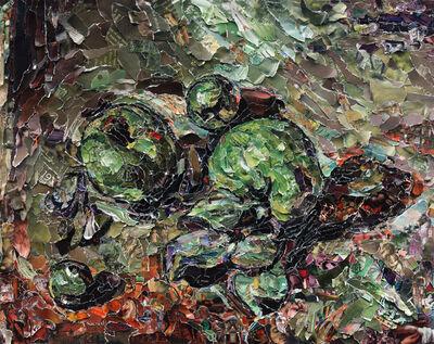 Vik Muniz, 'Green Apples, after Cézanne (Pictures of Magazines 2)', 2011