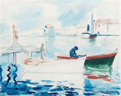 Francis Picabia, 'Sans titre ou Le port de Saint Raphäel', ca. 1905