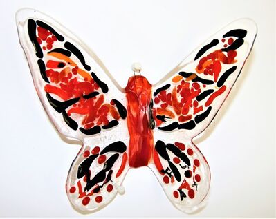 Mariana Villanueva, 'Red Passion medium butterfly nr.2', 2017