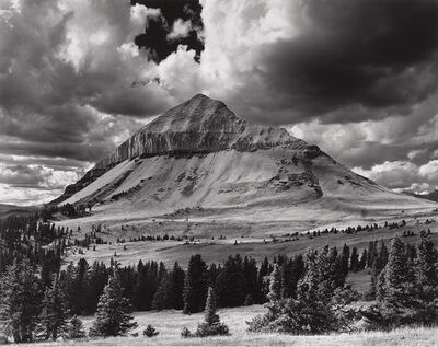 Jody Forster, 'Engineer Mountain, from the East San Juans, Colorado', 1977