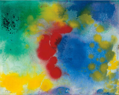 Sam Gilliam, 'Untitled, from VOICES: An Artists' Project', 1994