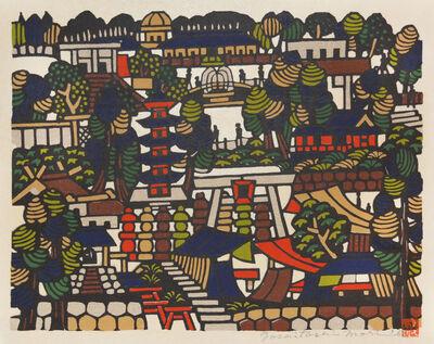 Yoshitoshi Mori, 'Landscape of Ueno Forest', 1967