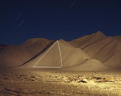 "Jim Sanborn, '(Triangle) Cainville, Utah ""Implied Geometry"" Ed. 10', N/A"