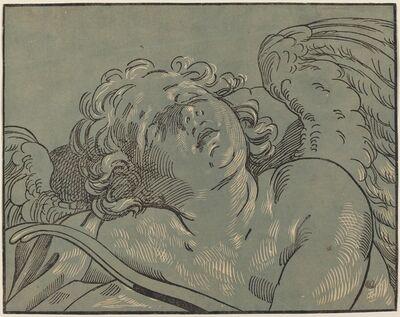 Bartolomeo Coriolano after Guido Reni, 'Cupid Asleep'