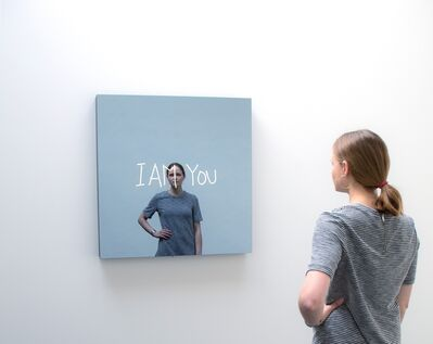 Jeppe Hein, 'I AM YOU (handwritten), ', 2018