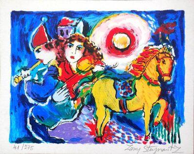 Zammy Steynovitz, 'Carousel Horse with Musicians', 20th Century