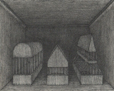 Hong Buhm, 'unnamed room #3', 2014