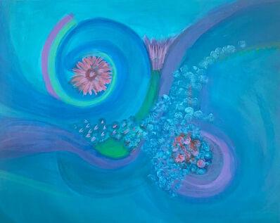 Jael Klein, 'Underwater flowers', 2018