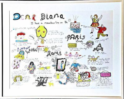 Niki de Saint Phalle, 'Dear Diana', 1969