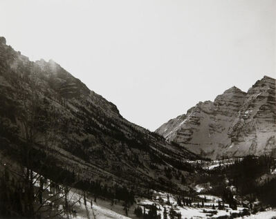 Andy Warhol, 'Andy Warhol, Photograph of Mountains in Aspen, 1980s', 1980s