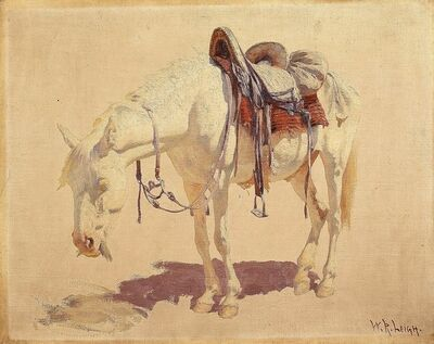 William Robinson Leigh, 'Navaho Pony (Study No. 1)', circa 1915-1933