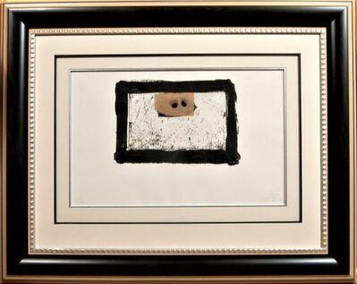 """Antoni Tàpies, '""""Cadre Noir""""', 1976"""