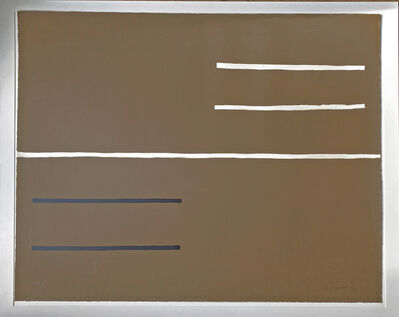 William Scott, 'Equals ', 1972