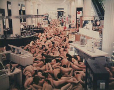 Spencer Tunick, 'London (Selfridges)'