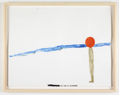 Chris Johanson, 'One Thing to Remember', 2011