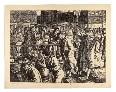 harry sternberg, 'BROADWAY #2 (MOORE 61)', 1930