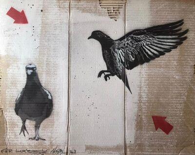 Jef Aérosol, 'Pigeons', 2008