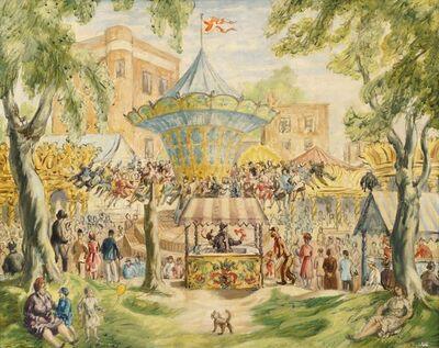 Edward Ardizzone, 'Hampstead Fun Fair'