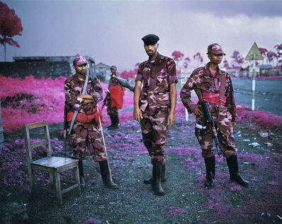 "Richard Mosse, '""Suspicius Minds""', 2012"