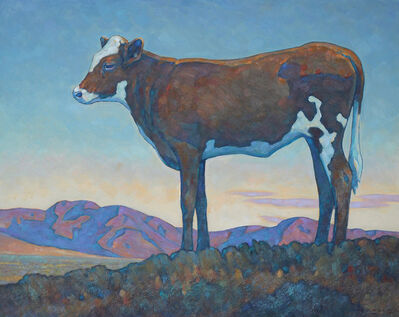 "Howard Post, '""Stray Calf""', 2018"