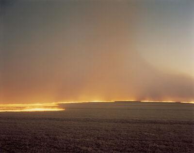 Richard Misrach, 'Desert Fire #249', 1985