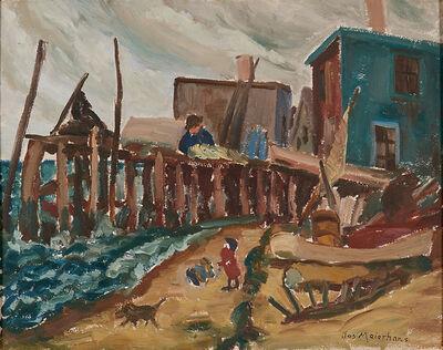 Joseph Meierhans, 'Untitled (Dock Scene)'