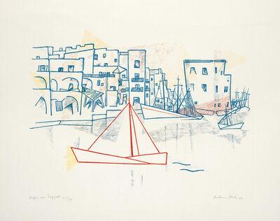 Christian Schad, 'Hafen von Pozzuoli', 1956