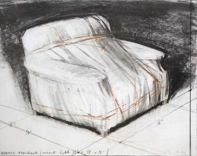 Christo, 'Wrapped Arm  Chair', ca. 1990