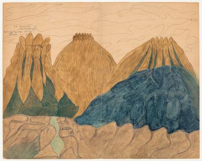 Joseph Yoakum, 'CS Valentin Crater', 1987