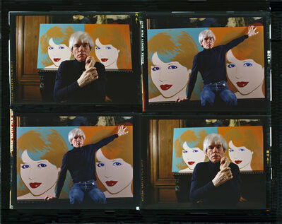 Harry Benson, 'Andy Warhol Times 4 Color', 1983