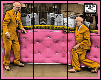 Gilbert and George, 'BEDLOW WAY', 2020