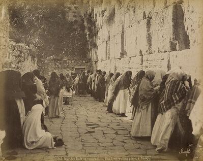 Félix Bonfils, 'Album entitled Photographies de Terre Sainte by F.F. Marroum, Jerusalem', 1870s