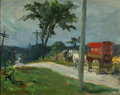 John Sloan, 'Bakery Wagon', 1908