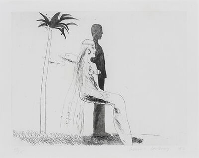 David Hockney, 'The Marriage', 1962