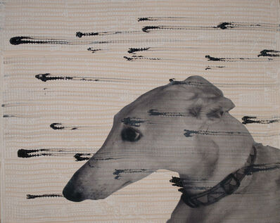 Holly Roberts, 'Greyhound Watching', 2018