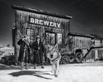 David Yarrow, 'Something's Brewing', 2019