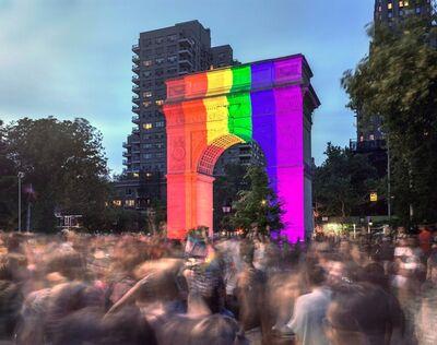 Matthew Pillsbury, 'WorldPride, Washington Square Park', 2019