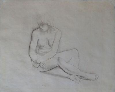 Moise Kisling, 'Seated Nude', 1923
