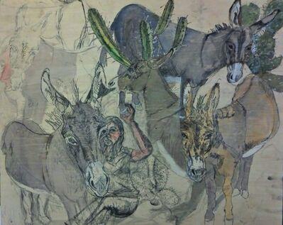 Jenny Toth, 'Donkey Menagerie', 2013