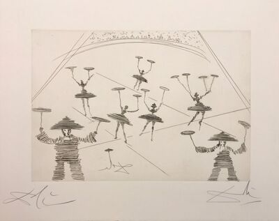 Salvador Dalí, 'CHINOIS (THÉÂTRE CHINOIS)', 1965