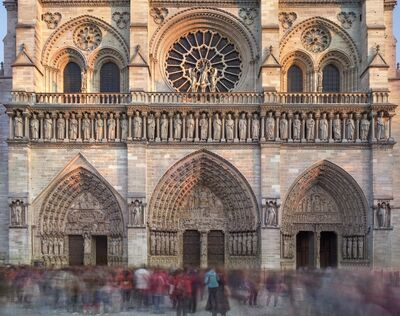 Matthew Pillsbury, 'Notre Dame de Paris, November', 2018